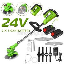 24V Cordless Grass Trimmer Electric Trimmer Lawn Cutter Mower Grass Machine