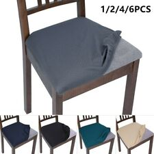 Waterproof Dining Chair Seat Cover Removable Elastic Slip cover Stretch Spandex