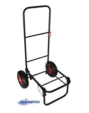 MDI Match Fishing or Festival Folding Trolley with Pneumatic Wheels