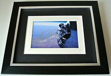 Felix Baumgartner SIGNED 10X8 FRAMED Photo Autograph Display Space Jump & COA
