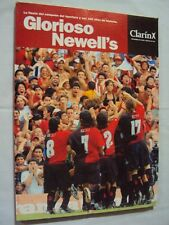 NEWELL´S OLD BOYS APERTURA Champion 2004 RARE CLARIN BOOK