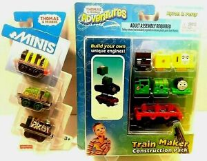 Combo pack Thomas & Friends Adventures Byron, Percy, James, Gator & paxton minis