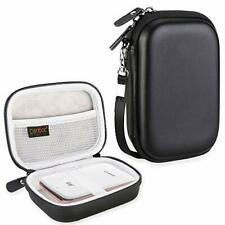 Hard Carrying Case for Canon Ivy Mobile Mini Photo Printer Bluetooth - Black