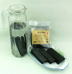 4 Pcs Reusable Water Purify Odor Removal Bamboo Charcoal Sticks, Parents Gift