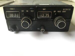 King KX 175B TSO NAV/COM w/ tray and wiring