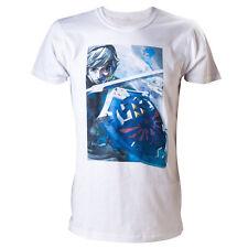 Camiseta Official T-Shirt ZELDA Link Sword And Shield Size M Nintendo