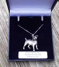 Jack Russell Terrier   - von Prideindetails als Halskettchen 925 Silber