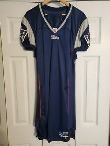 2000 Adidas New England Patriots Team Issued Game Worn Blank Jersey Sz 48