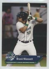 2012 Choice Vermont Lake Monsters Bruce Maxwell #17