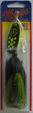 Mepps Black Fury Tandem Spinners - 7/8 oz. - Chartreuse Black/Chartreuse