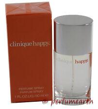 Happy by Clinique 1.0 oz 30 Ml EDP Spray (No Cello) New in Box for Women