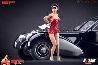 1:18 Pompouse girl figurine VERY RARE !! NO CARS ! for cmc autoart