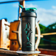 Blender Bottle Edición Especial Clásico 28 OZ spoutguard Shaker-Shark