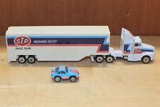 1992 Racing Champions NASCAR Richard Petty Transporter With #43 Micro Stockcar