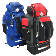 X Large 120 L  Hiking Camping Rucksack Backpack Travel Luggage Festival Bag Case
