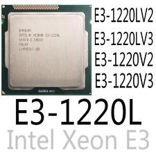 intel E3-1220L E3-1220L V2 E3-1220L V3 E3-1220 V2 E3-1220 V3 CPU Processor