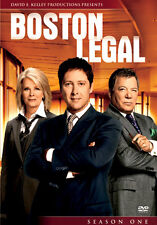BOSTON LEGAL SEASON 1 - DVD - REGION 2 UK