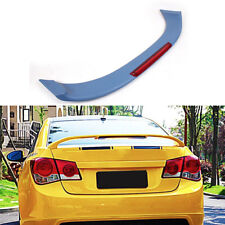 Car Trunk Boot Spoiler Wing Withled Light Fit For Chevrolet Cruze 11 14 Unpainted Fits Cruze
