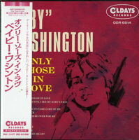 BABY WASHINGTON-ONLY THOSE IN LOVE-JAPAN MINI LP CD BONUS TRACK C94
