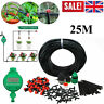 25M Micro Drip Irrigation Watering Automatic Kit Garden Plant Greenhouse System