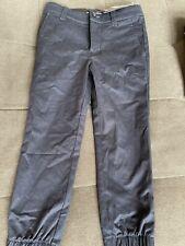 New W/ Tags Boys Under Armour Navy Pants Sz 4 Jogger Style School Uniform Pants