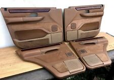 Range Rover P38 Türverkleidung Türpappen Komplett mit Holz Door Cards Set