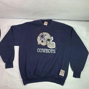 Vintage Nutmeg Mills Cowboys Pullover Sweater