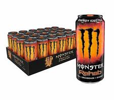Monster Energy Rehab Tea + Orangeade + Energy, Energy Iced Tea, 15.5 Ounce