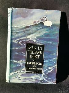 Men In The Same Boat by JD Beresford and Esme Wynne-Tyson 1943