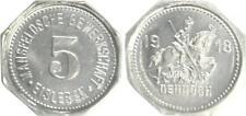Eisleben 5 Pfennig 1918 Silberabschlag Mansfelder Trade Union Xf-Bu