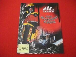 VINTAGE 2004 MAC TOOLS MERCHANDISE CATALOG- GREAT APPAREL & MAN-CAVE GEAR VGC