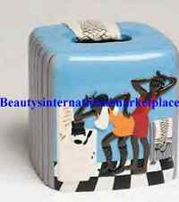 Annie Lee Ats Primpin Tissue box Cover Black American/African American