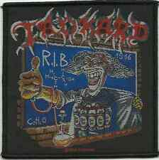 TANKARD r.i.b - rest in beer 2014 - WOVEN SEW ON PATCH official merchandise