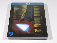 Iron Man 2 Blu-ray Steelbook [Korea] 1/4 Slip Ed OOS/OOP