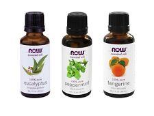 Now Foods Essential Oils: Mental Focus - Eucalyptus, Tangerine, Peppermint