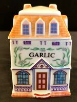 Garlic Shoppe From The 1989 Lenox Porcelain Spice Village