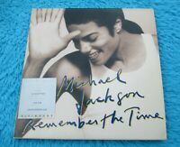 """Michael Jackson Dual Disc """" REMEMBER THE TIME """" Visionary CD DVD Video"""