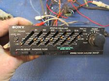 Old School Sony XM-E7 Stereo Power Amplifier