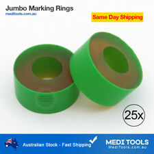 Jumbo Marking Rings, Calves, Bulls, Castration, 25 Pcs, Bloodless, Premium