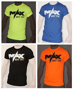 Muay thai t shirt training t shirts mma apparel clothing UK