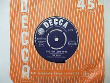 F.11853 The Mojos - Give Your Lovin' To Me / Everything's Al Right - 1964