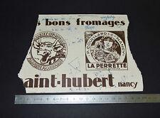 RARE BUVARD 1930-1940 BENJAMIN RABIER VACHE QUI RIT ST HUBERT COUILLARD NANCY