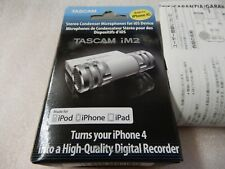TASCAM  iM2 for iPhone/iPad/iPod touch NEW IN BOX, White