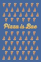Pizza Is Bae Funny Mural inch Poster 36x54 inch