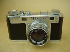 Nikon S Rangefinder Camera MIOJ w/5cm F/2 Nippon Kogaku Tokyo Lens #6094552 RARE