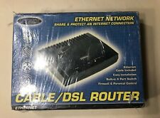 Dynex 4-Port Cable/DSL Router Ethernet Network DX-E401