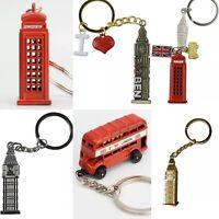 Cute British Miniature London Key Ring Keychain Gift