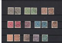 schleswig (slesvig) 1920 mounted mint and used stamps cat £1000+  ref r11618