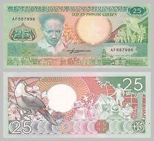 Surinam / Suriname 25 Gulden 1988 p132b unz.