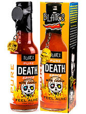 """""""BLAIR'S PURE DEATH SAUCE WITH JOLOKIA (Ghost) Pepper"""" - Hot Chilli Sauce"""